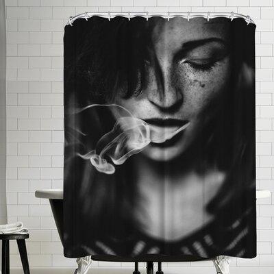 1x Smokey Shower Curtain