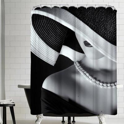 1x La Femme Au Chapeau Shower Curtain