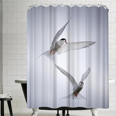 1x Arctic Tango Shower Curtain