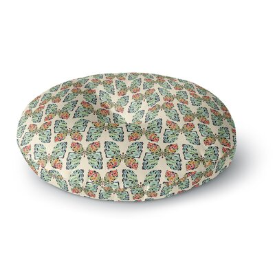 Art Love Passion Little Butterflies Round Floor Pillow Size: 26 x 26