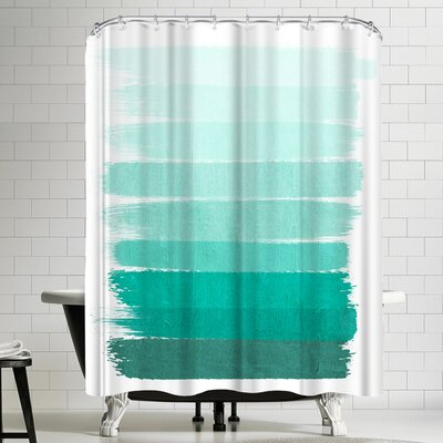 Charlotte Winter Ombre Shower Curtain
