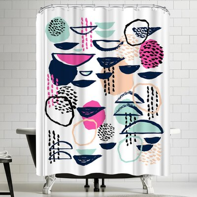 Charlotte Winter Rumba Shower Curtain