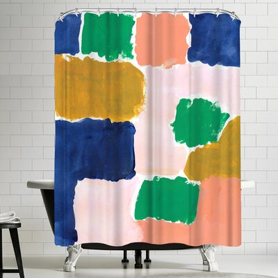 Charlotte Winter Shel Shower Curtain