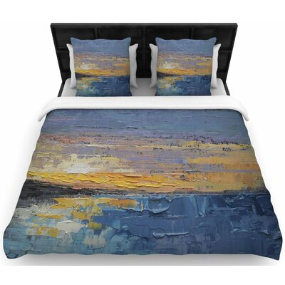 Carol Schiff Caribbean Sunset Woven Duvet Cover Size: Full/Queen
