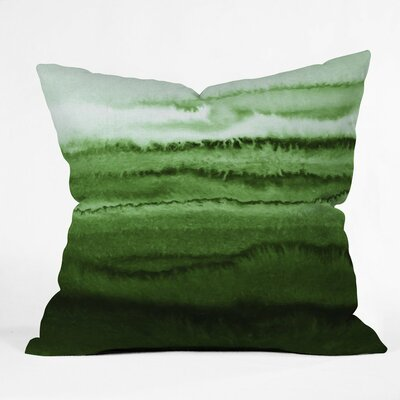 Monika Strigel Within the Tides Fresh Forest Outdoor Polyester/Polyester Blend Throw Pillow
