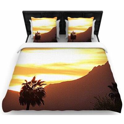 Sylvia Coomes Tucson Sunset Woven Duvet Cover Size: Twin