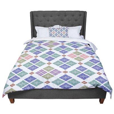 Setsu Egawa Happy Lozenge Comforter Size: King