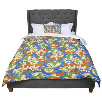 Setsu Egawa Clam And Paulownia Comforter Size: King