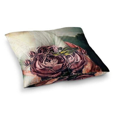 Suzanne Carter The Bouquet Square Floor Pillow Size: 26 x 26