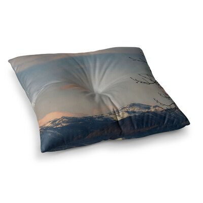 Robin Dickinson Majesty Landscape Square Floor Pillow Size: 26 x 26