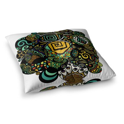 Pom Graphic Design Life Square Floor Pillow Size: 26 x 26