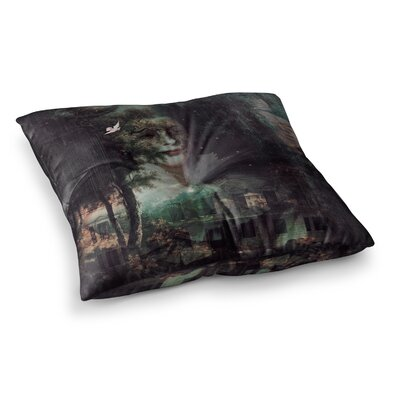 Suzanne Carter Lady Grace Dark Square Floor Pillow Size: 26 x 26