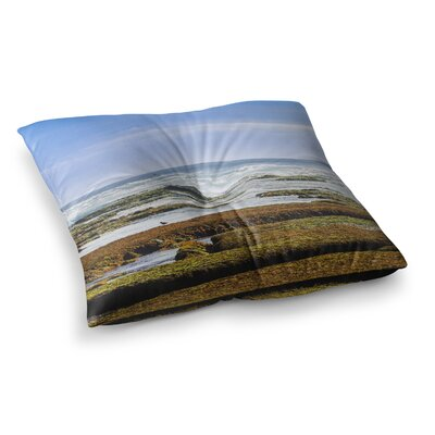 Nick Nareshni Low Tide Reef Photography Square Floor Pillow Size: 23 x 23