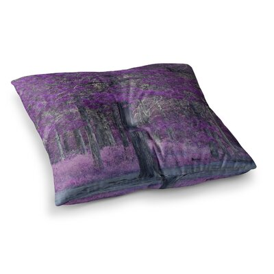 Sylvia Coomes Tree Square Floor Pillow Size: 26 x 26