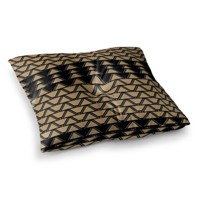 Nina May Deco Angles Square Floor Pillow Size: 26 x 26