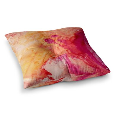 Malia Shields Color River IV Square Floor Pillow Size: 23 x 23