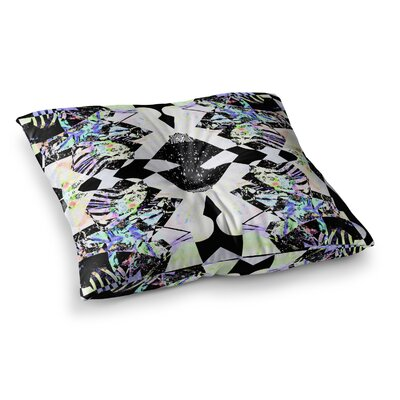 Vasare Nar Abstract Zebra Square Floor Pillow Size: 23 x 23