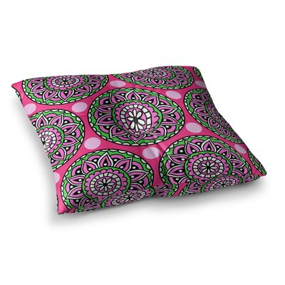 Suzanne Harford Jovial Square Floor Pillow Size: 26 x 26