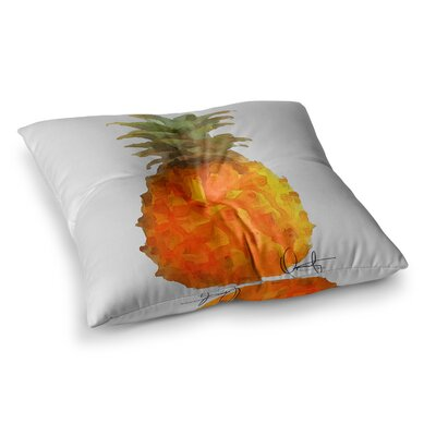 Oriana Cordero Before Pina Colada Square Floor Pillow Size: 26 x 26