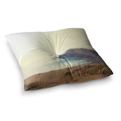 Sylvia Coomes Sea Dream Coastal Square Floor Pillow Size: 23 x 23