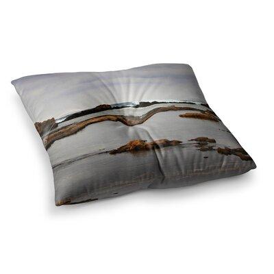 Sylvia Coomes Dark Sea Coastal Square Floor Pillow Size: 26 x 26