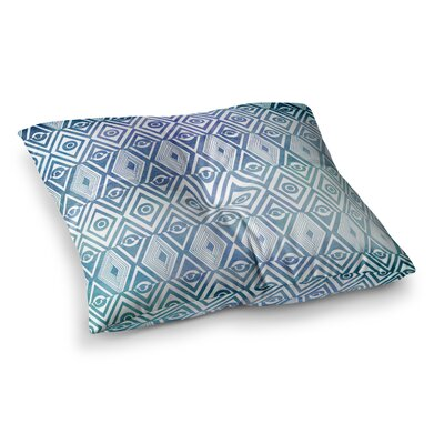 Pom Graphic Design Tribal Empire Square Floor Pillow Size: 26 x 26