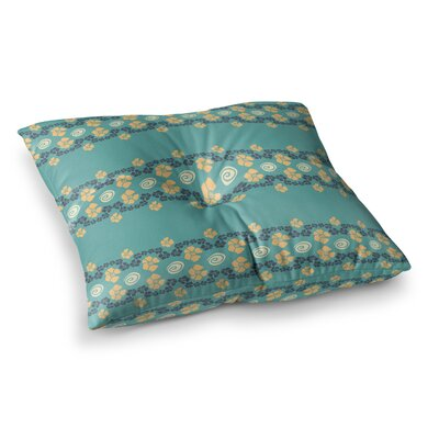 Zara Martina Mansen Flora Formations Square Floor Pillow Size: 26 x 26
