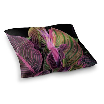 Victoria Krupp in The Dark Digital Square Floor Pillow Size: 23 x 23