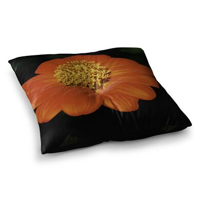 Nick Nareshni Open Wide Flower Square Floor Pillow Size: 26 x 26