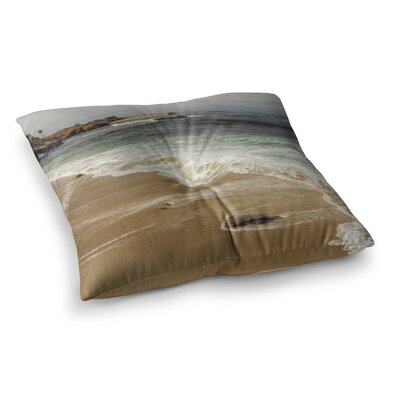 Nick Nareshni Sandy Waters Square Floor Pillow Size: 23 x 23