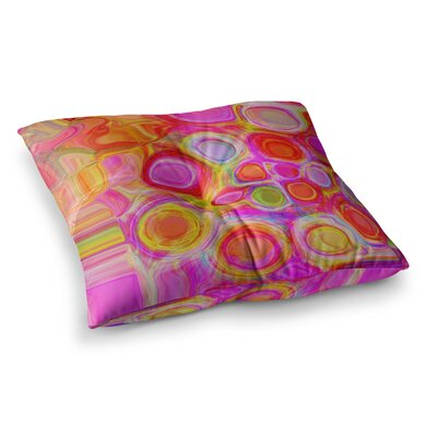 Nina May Spring Square Floor Pillow Size: 23 x 23