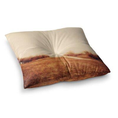 Sylvia Coomes Minimalist Autumn Landscape Square Floor Pillow Size: 26 x 26