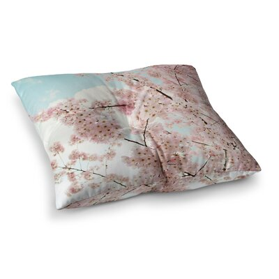 Sylvia Cook Spring Beauty Square Floor Pillow Size: 23 x 23