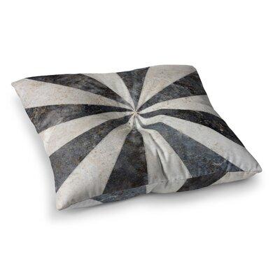 Susan Sanders Stripe Love Square Floor Pillow Size: 23 x 23