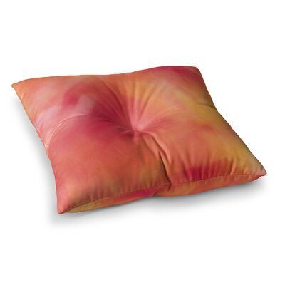 Malia Shields Unconditional Love Square Floor Pillow Size: 23 x 23