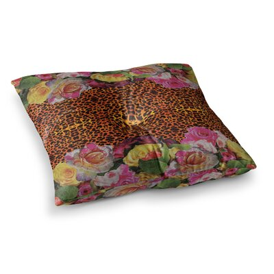 Nina May New Rose Eleo Square Floor Pillow Size: 26 x 26