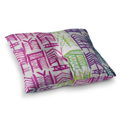 Theresa Giolzetti Quiver II Floor Pillow Size: 23 x 23, Color: Pink
