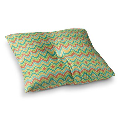Pom Graphic Design Bright and Bold Square Floor Pillow Size: 23 x 23