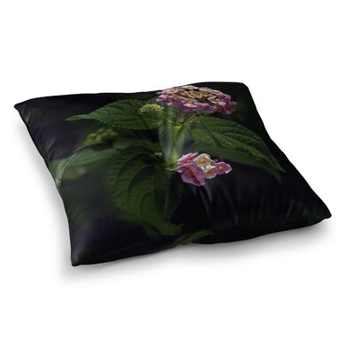 Nick Nareshni The Lantana Flower Square Floor Pillow Size: 23 x 23
