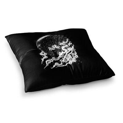 BarmalisiRTB Alien Light Square Floor Pillow Size: 26 x 26