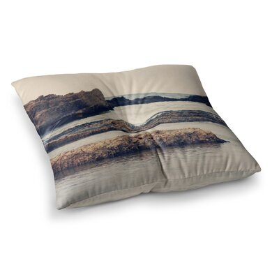 Sylvia Coomes Mediterranean II Square Floor Pillow Size: 23 x 23