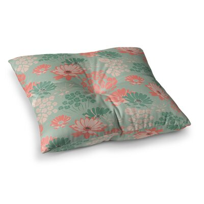 Vasare Nar Polka Dot Diamonds Square Floor Pillow Size: 26 x 26
