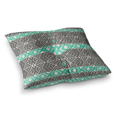 Pom Graphic Design Going Tribal Square Floor Pillow Size: 23 x 23
