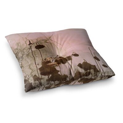Marianna Tankelevich Lotus Dream Flower Square Floor Pillow Size: 26 x 26