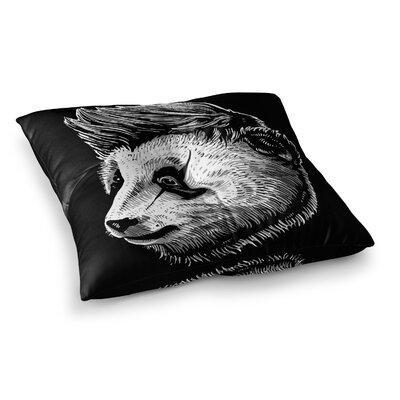 BarmalisiRTB Funky Panda Square Floor Pillow Size: 23 x 23
