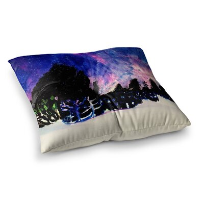 Theresa Giolzetti First Snow Square Floor Pillow Size: 23 x 23