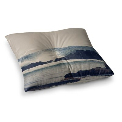 Sylvia Coomes Ocean 2 Square Floor Pillow Size: 26 x 26