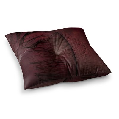 Robin Dickinson Plumtickled Square Floor Pillow Size: 26 x 26