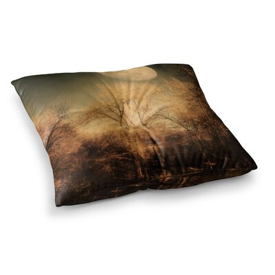 Sylvia Coomes Full Moon Nature Square Floor Pillow Size: 26 x 26