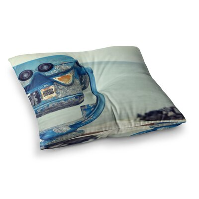 Robin Dickinson Way Out There Square Floor Pillow Size: 23 x 23